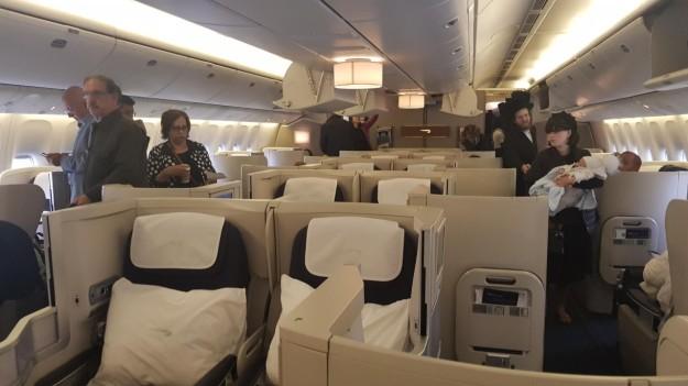 BRITISH AIRWAYS B777 CLUB WORLD LHR-TLV: REVIEW – The
